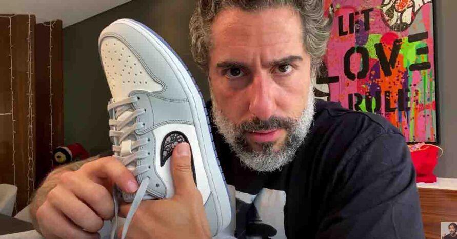 """Imagem ilustrativa da notícia: Mion compra tênis de R$ 10 mil e desabafa: """"Nem sei quando vou usar"""""""