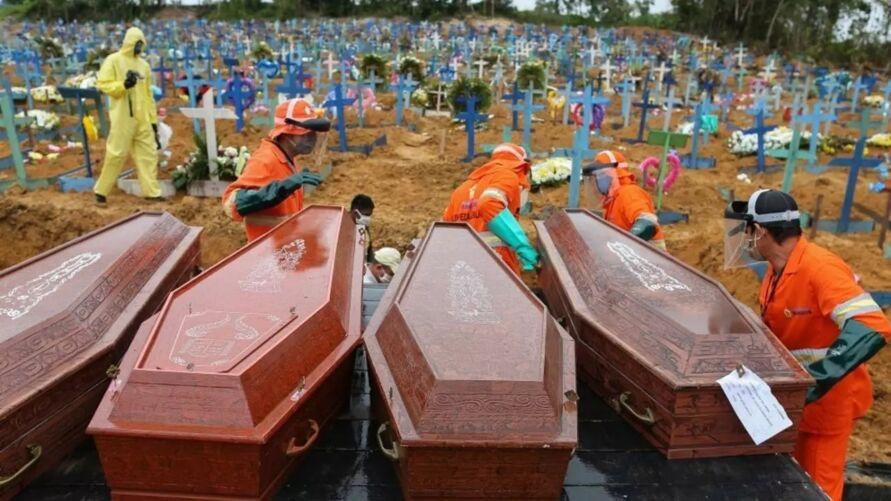 Imagem ilustrativa da notícia: Associação orienta funerárias a triplicarem estoque de caixões
