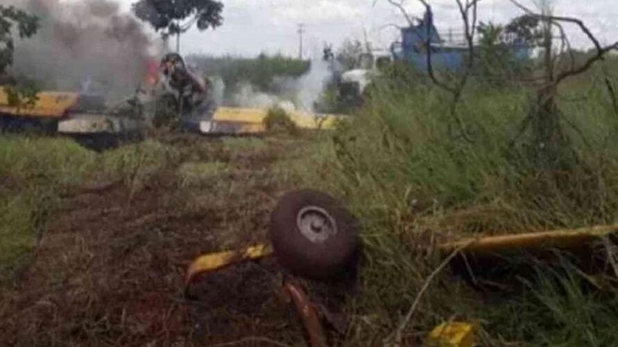 Piloto afirmou que se preparava para pousar quando o incidente aconteceu.