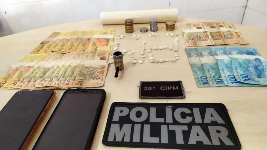 Operação foi realizada pela Polícia Militar na manhã deste sábado (20).