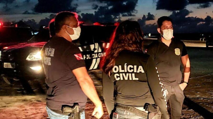 Governador avalia cenário  epidemiológico para a realização das provas do concurso da Polícia Civil do Estado.
