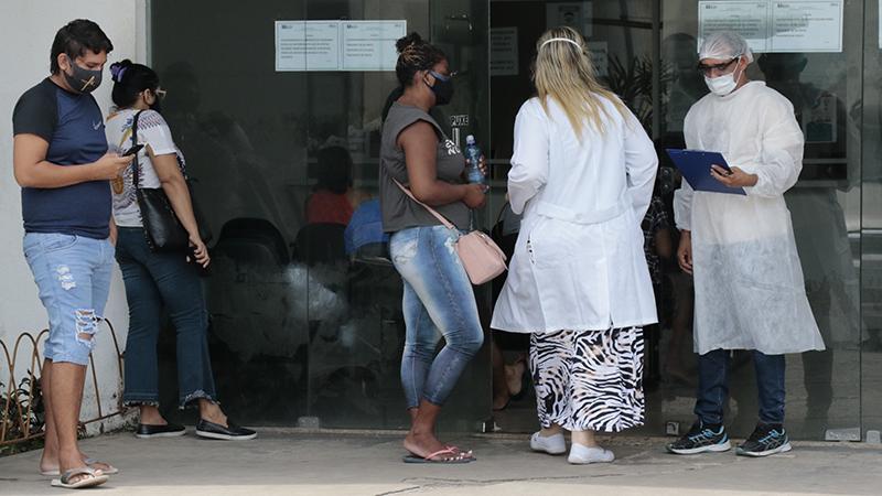Imagem ilustrativa da notícia: 100% ocupado: não há mais leitos clínicos na rede municipal de Belém
