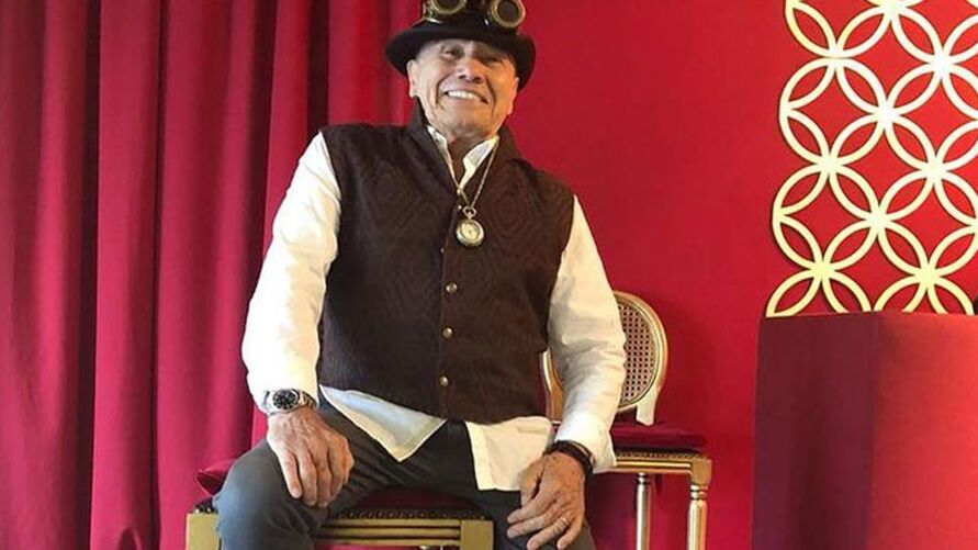 Ator Stenio Garcia tem 88 anos
