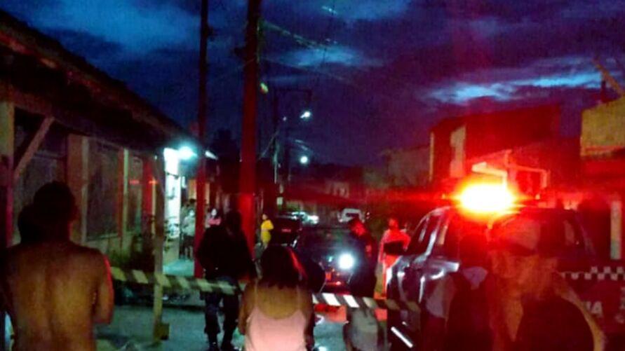 Crime foi registrado em uma alameda na Cidade Nova VIII, na Região Metropolitana