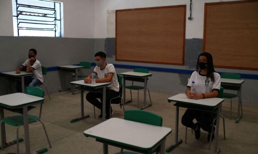 Imagem ilustrativa da notícia: Aulas presenciais são suspensas em escolas do Rio