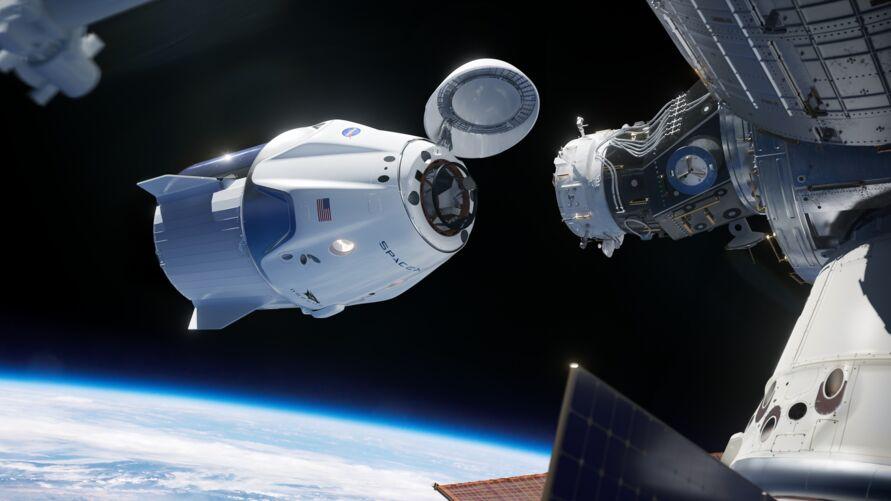 Imagem ilustrativa da notícia: Vídeo mostra OVNI próximo a estação espacial; assista!