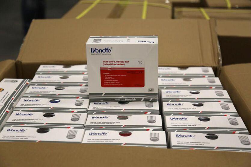 Imagem ilustrativa da notícia: Pará recebe 60 mil testes rápidos para diagnóstico da Covid-19