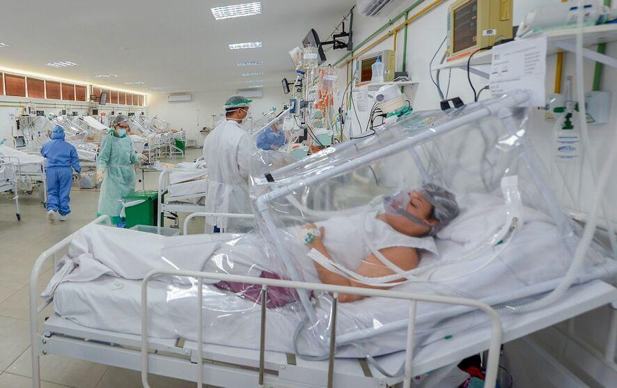Imagem ilustrativa da notícia: Após alta hospitalar, 1/4 dos pacientes intubados por Covid morre por sequelas