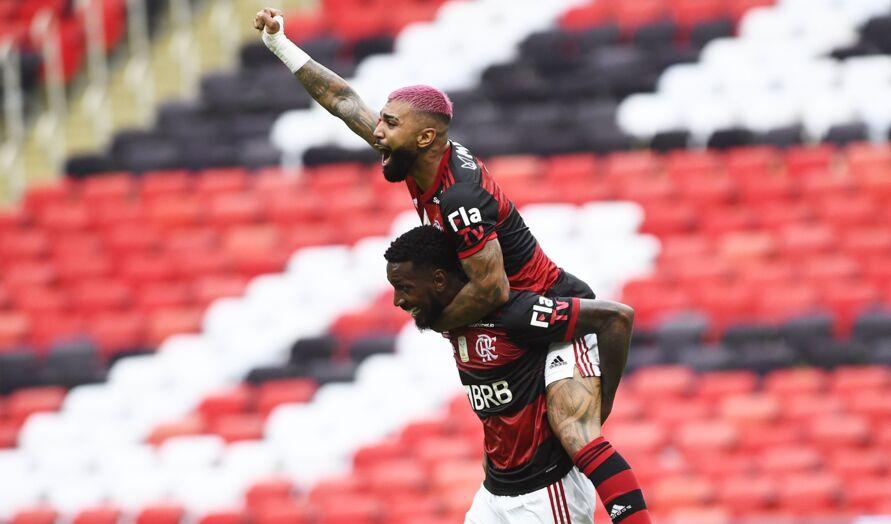 Jogo ocorreu no Maracanã na tarde deste domingo (21). Gabigol marcou o gol da vitória.