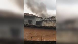 Imagem ilustrativa da notícia: Incêndio atinge residência no Telégrafo; veja o vídeo!