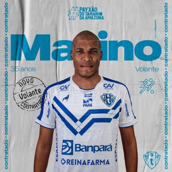 Volante Marino, é o novo contratado do Paysandu
