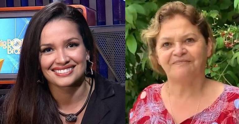 Juliette Freire e a mãe Dona Fátima