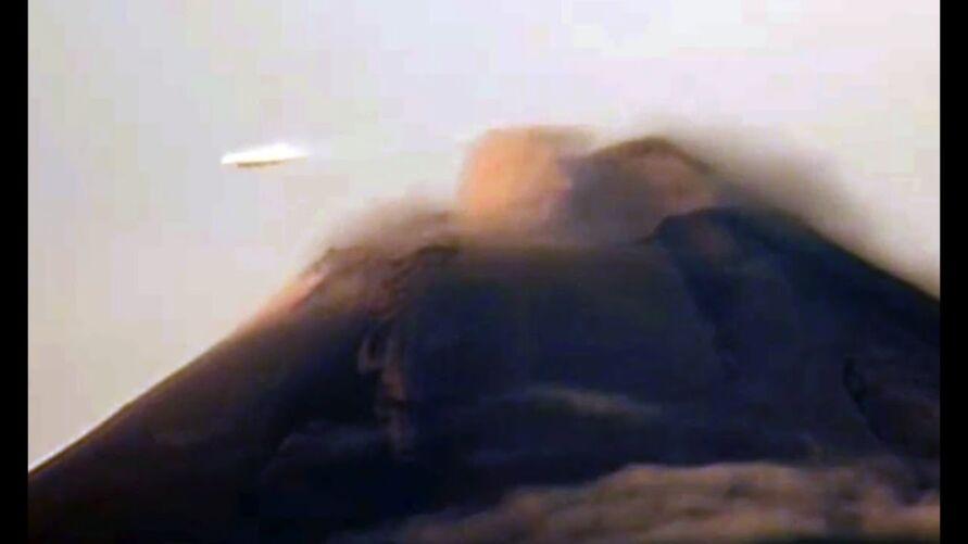 """O vulcão Popocatépetl se tornou uma """"celebridade"""" devido ao enorme volume de avistamentos de extraterrestes ao longo dos anos"""