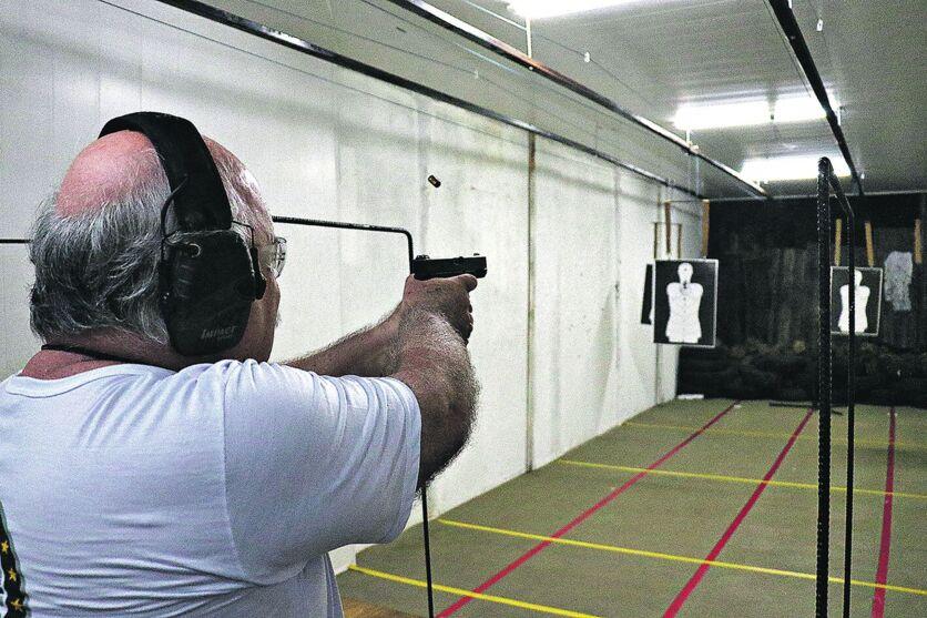 Segundo a PF, hoje há 1,1 milhão de armas de fogo registradas em todo o território nacional