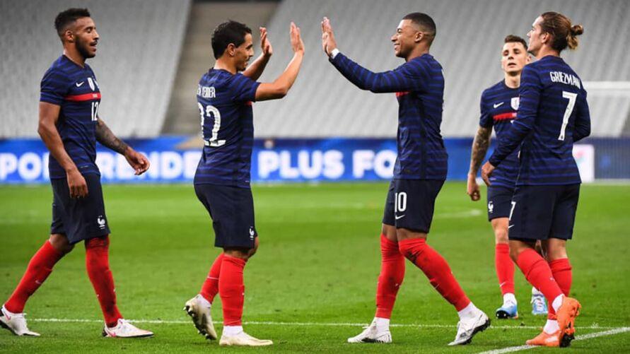 França tem peso de conquistar a Copa do Mundo e agora quer a Europa