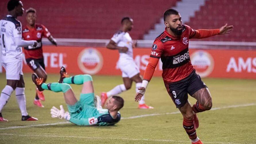 Flamengo tem no seu artilheiro o trunfo para os jogos da primeira fase