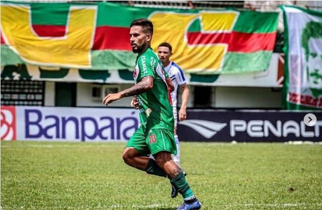 Com 3 gols no Parazão, meia Lukinha foi destaque na Tuna Luso Brasileira.
