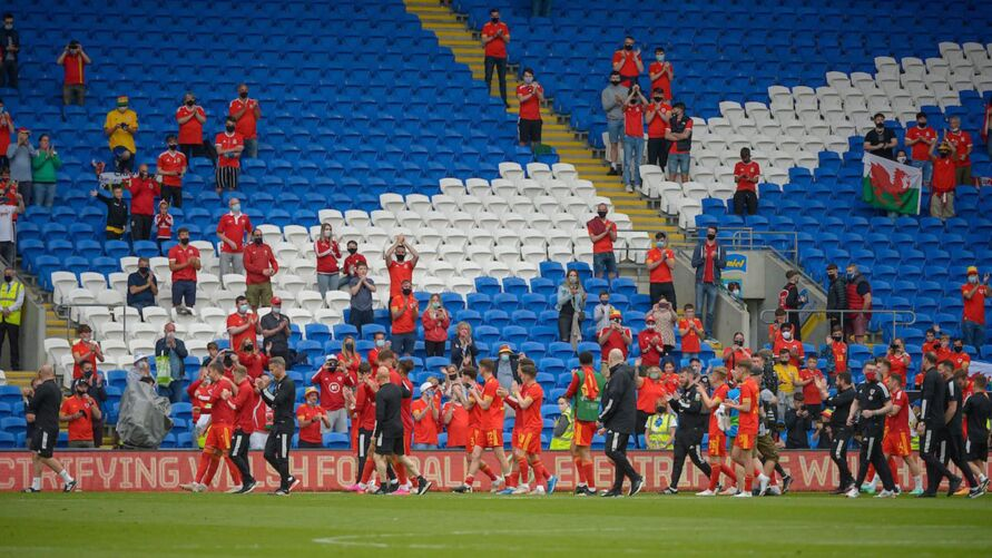 Galeses querem ir longe na Euro
