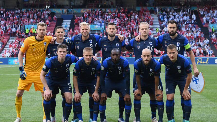 Finlândia vence o jogo apesar de susto com jogadores