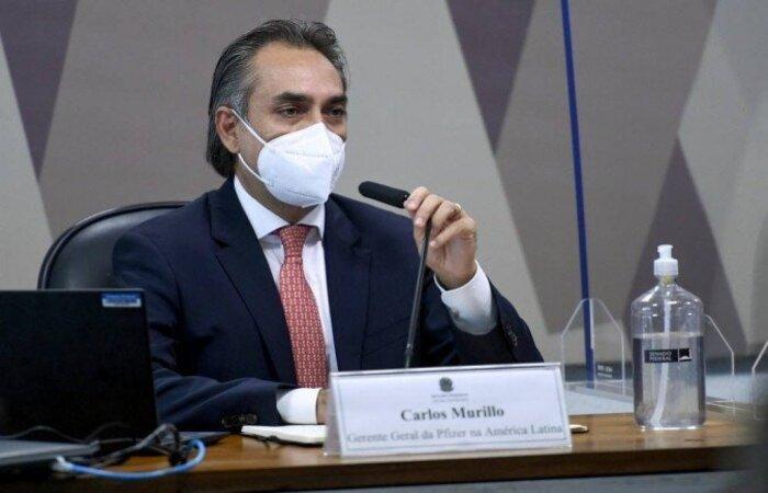Carlos Murillo, gerente-geral da Pfizer na América Latina.
