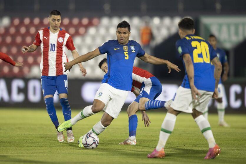 Casemiro é o capitão da Seleção