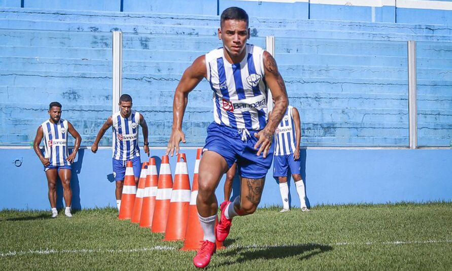 Diego Matos está de malas prontas para o Avaí-SC