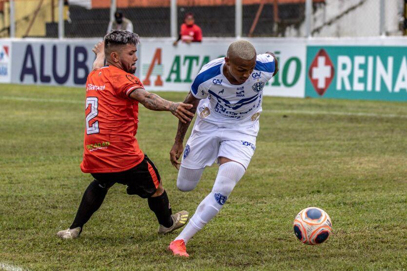 Igor Goularte teve seu contrato rescindido e está fora do Paysandu