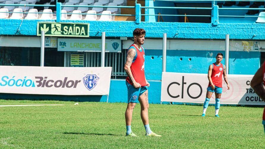 Jogador teve um ano dificil e sua chegada ao Paysandu mostra volta por cima