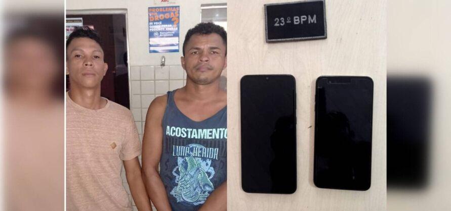 Romário da Silva Santos e Marcos Martins Rodrigues, eles foram reconhecidos por meio das descrições cedidas pelas vítimas.