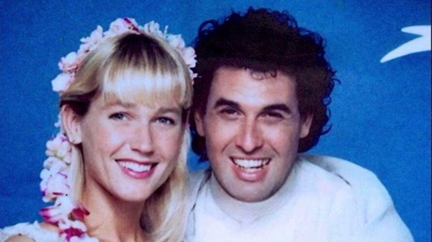 Xuxa e Sérgio Mallandro no filme Lua de Cristal, de 1990