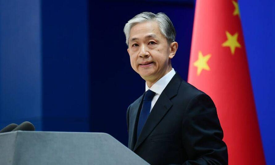Porta-voz do Ministério das Relações Exteriores da China, Wang Wenbin