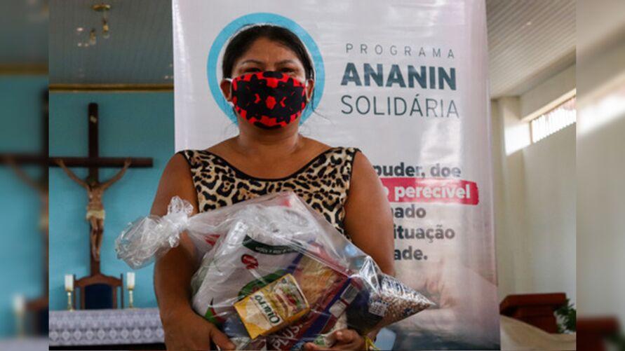 """Imagem ilustrativa da notícia: """"Ananin Solidária"""" supera 20 toneladas de alimentos"""