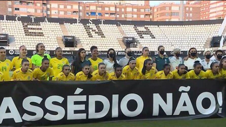 Seleção vence e se manifesta sobre o caso que abalou o futebol brasileiro