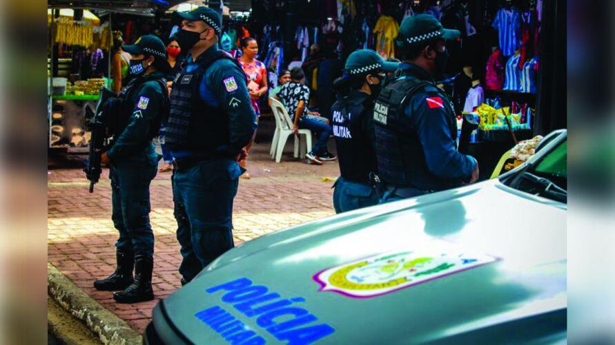 Para a Polícia Militar, serão preenchidas 2.310 para Praças
