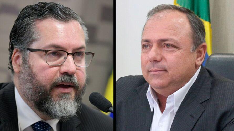 CPI terá acesso a dados telefônicos e telemáticos dos ex-ministros Ernesto Araújo (Relações Exteriores) e Eduardo Pazuello (Saúde)
