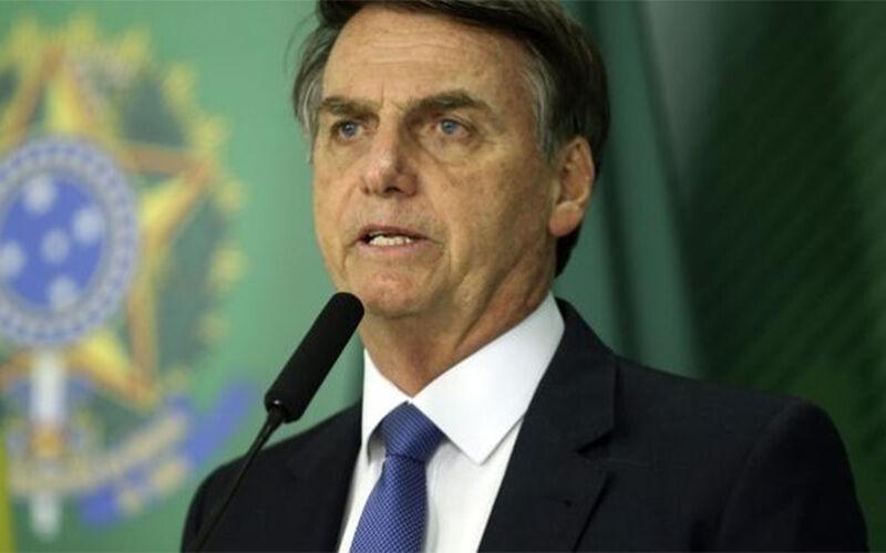 O presidente Jair Bolsonaro cumpriu agenda em Manaus.