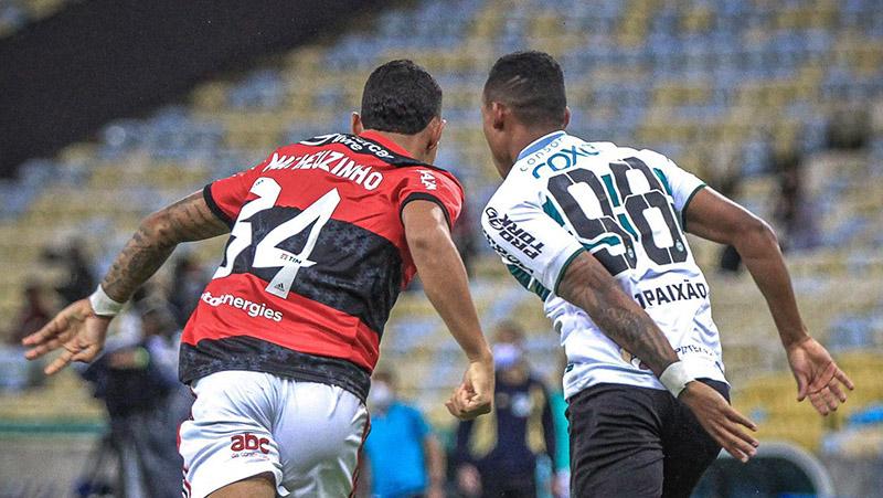 Flamengo não deu chances para o adversário