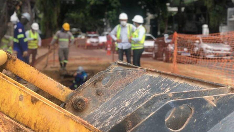 Cosanpa realizará obras de manutenção na rede de água de Belém