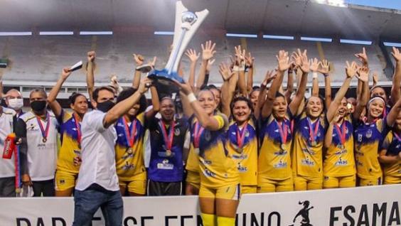 O time paraense busca acesso para série elite do campeonato Brasileiro feminino.