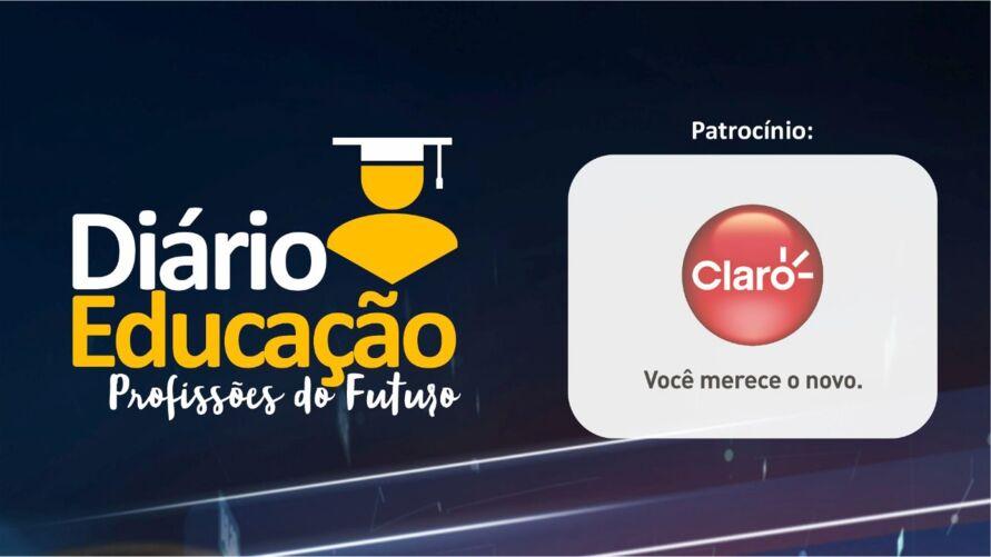 """Imagem ilustrativa do podcast: """"Diário Educação, profissões do Futuro"""" no Dolcast"""