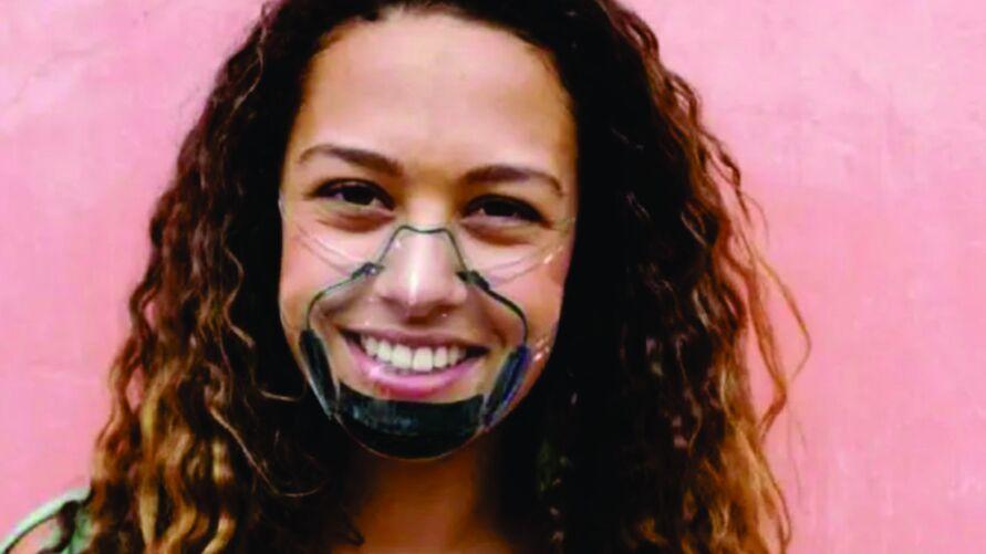 Especialista defende que a produção de máscaras transparentes, certificadas pela Anvisa, seja estimulada no Brasil