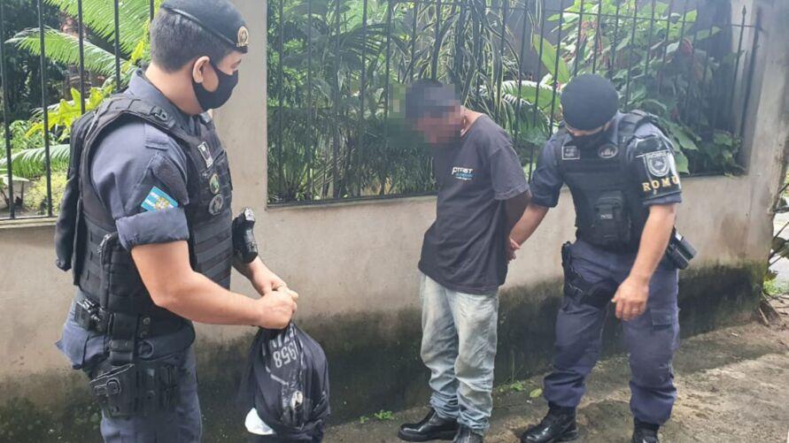 Guardas municipais conduziram o preso à Seccional Urbana de Ananindeua
