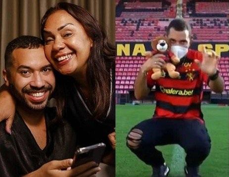 O ex-BBB sofreu um ataque homofóbico de um conselheiro do Sport, de Recife.