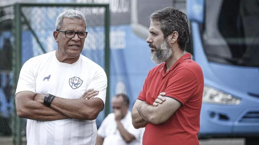Hélio saiu do Papão após desentendimento com Ricardo Gluck Paul, antigo presidente.