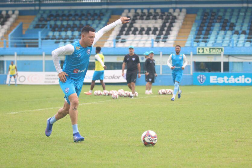 Com Perema na defesa, Paysandu está pronto para mais um desafio na Série C.