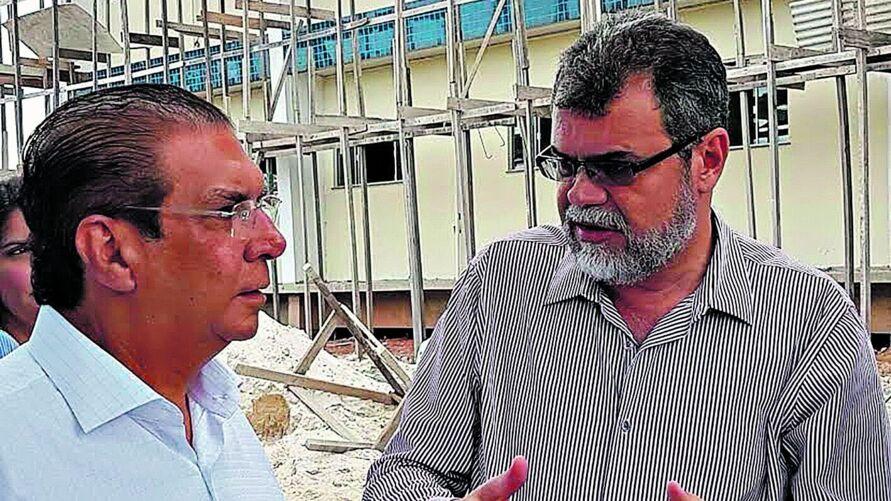Bloco de Laboratórios que está sendo construído no campus de Marabá, com recursos de emendas do senador Jader