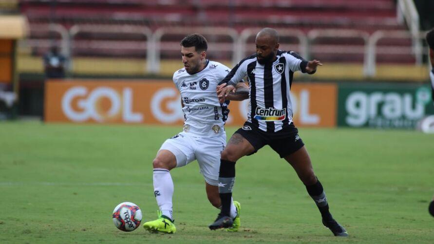Leão não foi páreo para o Botafogo.