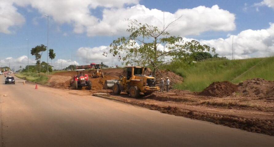 Imagem ilustrativa da notícia: Obras na BR-230 mudarão o trânsito no perímetro urbano