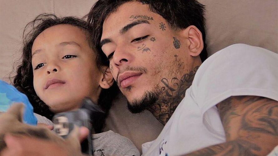 Kevin e a filha