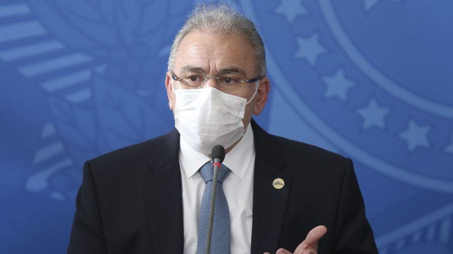 O Ministro da Saúde, Marcelo Queiroga.